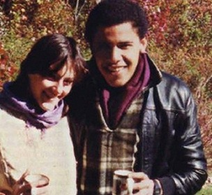 Obama & Genevieve Cook 1