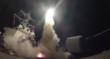US Navy missiles