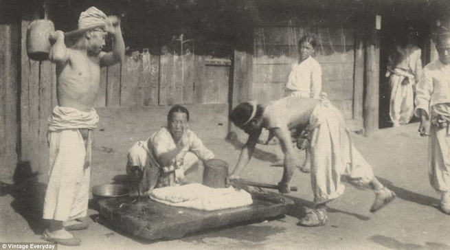 Koreans in old times 12