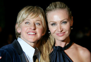 Ellen DeGeneres & Portia Rossi 3