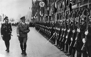 Hitler & SS Guard