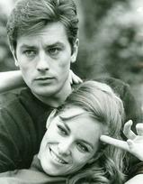 Natalie & Alain Delon 111111
