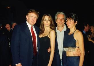 Jeffre Epstein & Trump 01