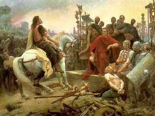Gauls lost in Alessia