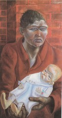 Otto Dix Mother & Child