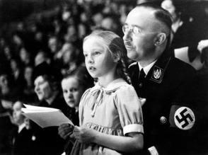 Heinrich Hi,,ler & daughter Gudrun