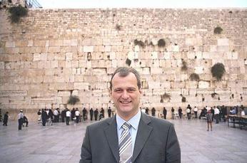 Louis Aliot in Israel