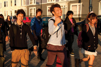 Chinese students in Britain