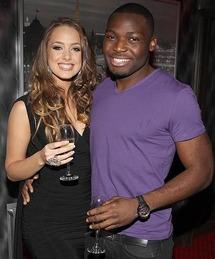 Emma Waldron & Nigerian boyfriend