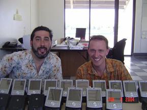 Mark Sullivan (R) & Steve Adler (L)