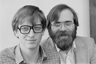 Paul Allen & Bill Gates 1
