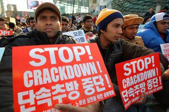 Korea Migrant workers