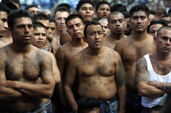Hispanic gangs from El Salvador 1