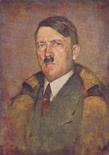 Hitler's portrait by Karl Truppe