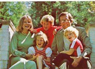 Jay Rockefeller's family 1