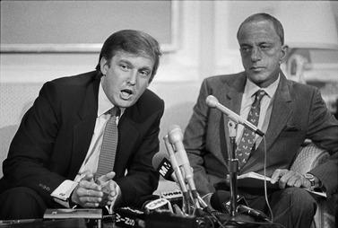 Roy Cohn & Trump 1