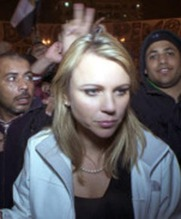 Lara Logan in Egypt 2