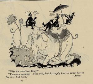 Dr Seuss Flit cartoon