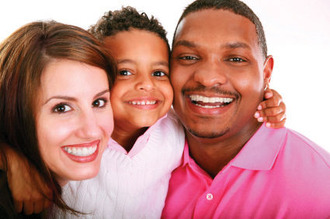 Interracial family 4