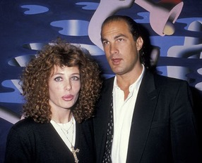 Steven Seagal & Kelly LeBrock 2