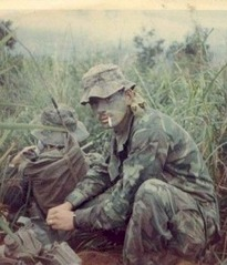 US Marine in Vietnam