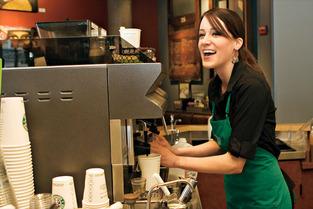 coffee shop Starbucks 1