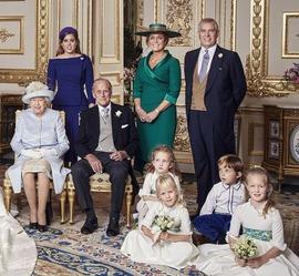 Queen Elizabeth & grand children 11