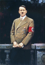 Hitler's portrait by Franz Tribsch