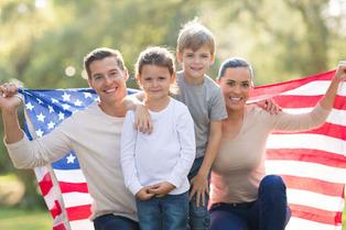 white American family 11