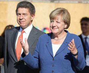 Angela Merkel & Joachim Sauer 2