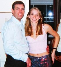 Prince Andrew & Virginia Roberts 1