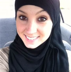 Hijab American girl converted to Islam