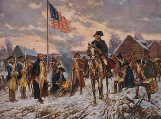 George Washington at Valley Forge 3
