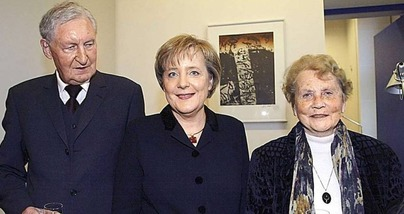 angela Merkel & parents 1