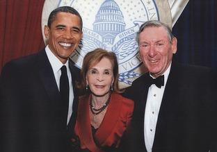 Lester & Renee Crown & Obama