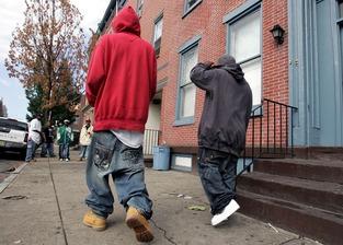 Black boys in Sagging Pants