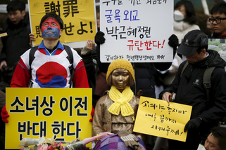 Korean Protest Ianfu