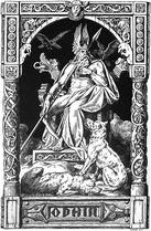 German god Odin