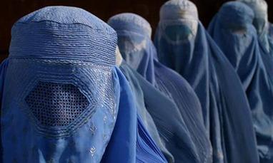 Burqua in Afghanistan 1