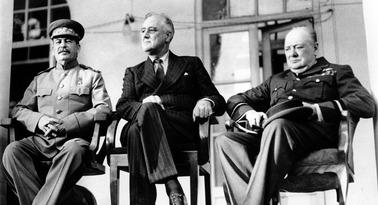 FDR & Stalin & Churchill 001