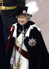Elizabeth II Garter
