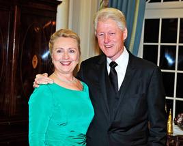 Bill & Hilary Clinton 3