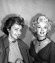 Marilyn Monroe & Natash Lytess