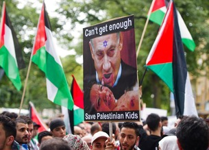 Pro Palestinian protesters in USA 002