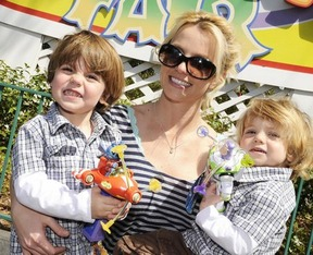 Britney Spears with kids. 2