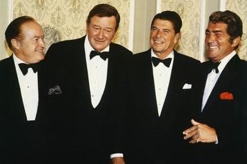 John Wayne & Roanld Reagan 1