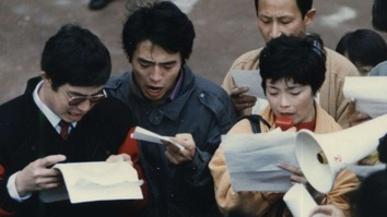 Chinese protest in 1989 Sydney
