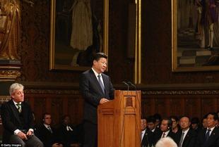 John Bercow & Xi Jinping 2