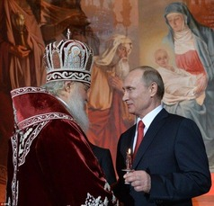 Putin in church 3