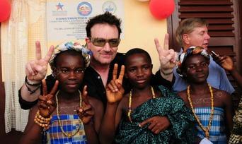 Bono in Africa 02